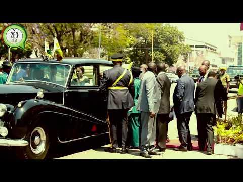 Mugabe's procession at the Parliament of Zimbabwe. #263Chat