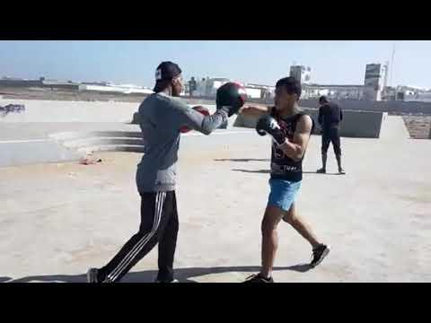 kickboxing training techniques #Ibrahim #Elaaboune
