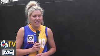 Round 14 VFLW Review with Rachael Jackson