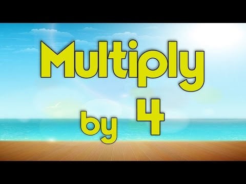 Multiply  4  Learn Multiplication  Multiply  Music  Jack Hartmann