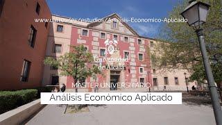 Máster en Análisis Económico Aplicado