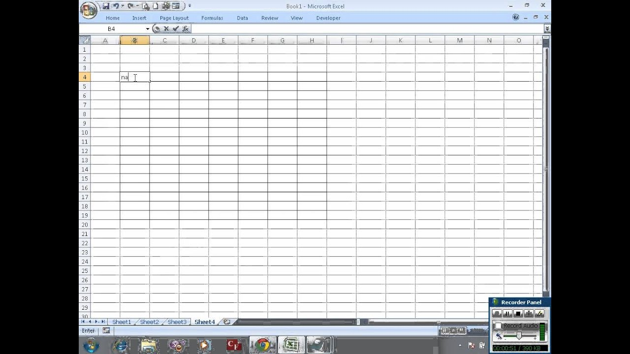 Make gridlines in Excel appear in print - YouTube