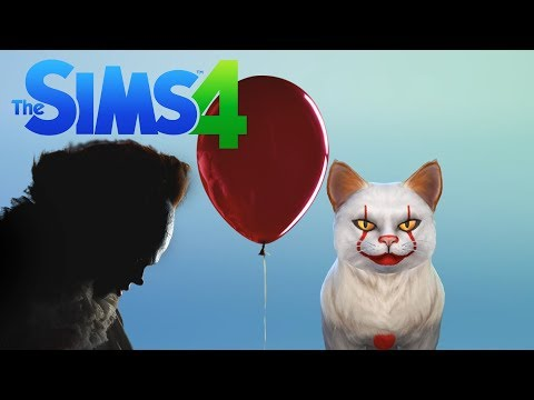 Pennywise The Dancing Cat! |CAS|Sims 4