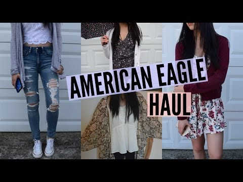 Huge American Eagle Haul! | Emily
