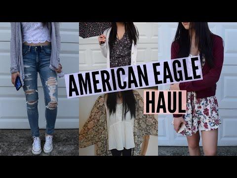 Huge American Eagle Haul!   Emily
