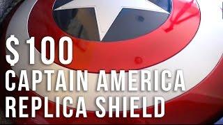 $100 CAPTAIN AMERICA SHIELD Replica Review / Unboxing - Hasbro Toys