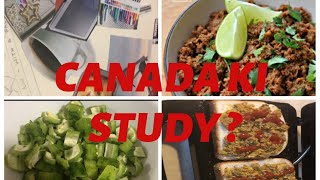 Weekend Vlog#Canada ki Study#Buna qeema use Different ways#Pakistani Desi mom Vlogs