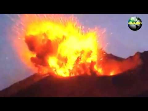 Извержение вулкана в Японии рядом с АЭС