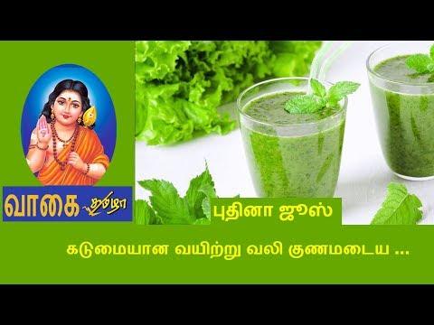 புதினா மருத்துவ பயன்கள் mint leaves benefits in tamil