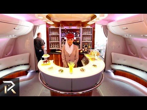 10 Luxurious First Class Flights For The Rich