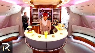 10 Luxurious First Class Flights For The Rich