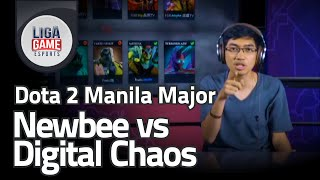 Dota 2 Manila Major - Digital chaos vs Newbee & LGD vs Fnatic