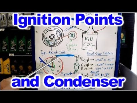 How the Ignition Points and Condenser Work  YouTube