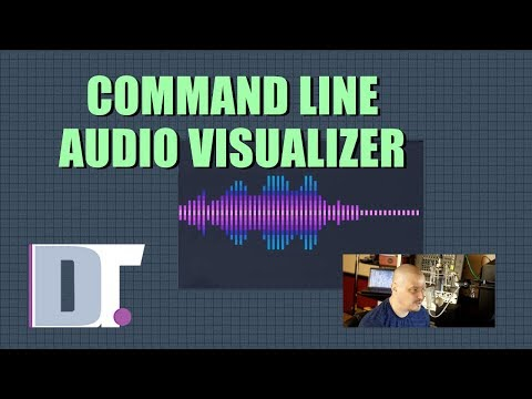 Command Line Audio Visualizer