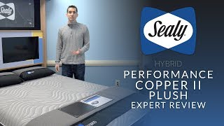 Sealy Posturepedic Hybrid Performance Copper II Plush Mattress Expert Review