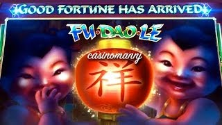 Fu Dao Le - *New Slot* - *PROGRESSIVE WIN* - Slot Machine Bonus