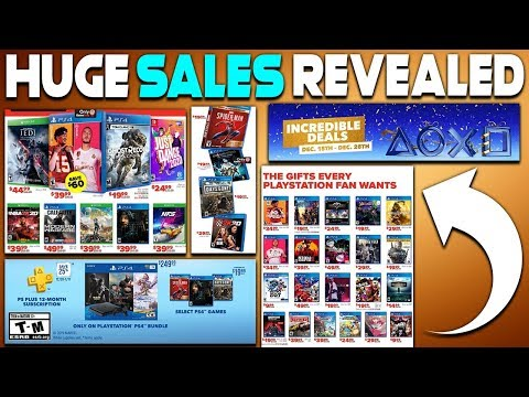 HUGE NEW PLAYSTATION SALES REVEALED - GAMES DISCOUNTED FOR THE FIRST TIME EVER + PLAY PS4 GAME FREE!