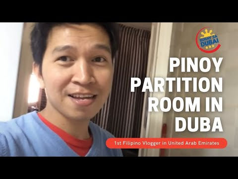 PINOY PARTITION ROOM IN DUBAI