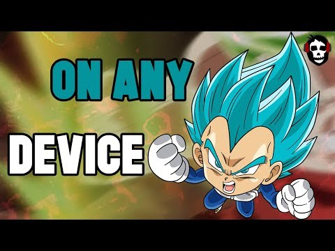 How To Download DragonBall Legends On Nox & Any Incompatible Device!