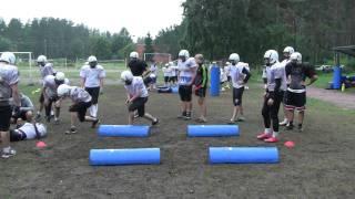 Учебно-тренировочные сборы СК HOGS Jr. Team American Football Russia