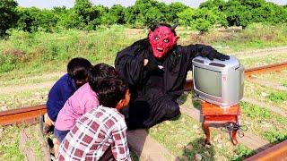 Shaitan vs TV Cricket Match Horror Kahani (Moral Kahani New)
