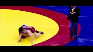 Geeta Phogat gold medal match Commonwealth 2010 final