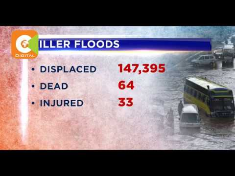 67 people killed, 33 injured as floods wreck havoc