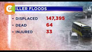 Video: Over 100,000 displaced as floods wreak havoc