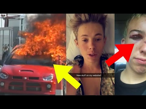 Thumbnail: 10 Youtubers Who ALMOST DIED!! (Tanner Fox Car Crash, Roman Atwood, Comedy Shorts Gamer & More)