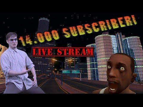 [LIVE STREAM] 14k subscriberi pe canal!! /  happy Birthday Calache!!!