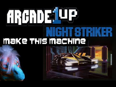 "Arcade1up - should do this! Arcade Game ""Night Striker!"" from Dragon Gamer"