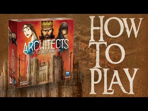 BGN บอร์ดเกมไนท์ Architects of The West Kingdom สถาปนิกแห่งนครตะวันตก  How to Play