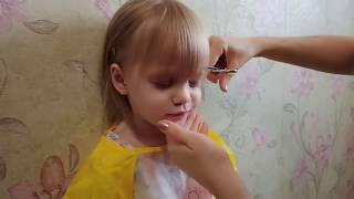 как сделать челку ребенку