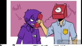 Фиолетовый парень приколы Фнаф