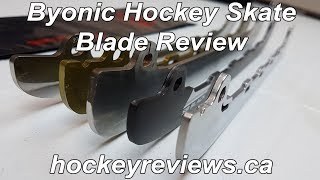 Byonic Super Polished & Colour Coated Skate Blades Review