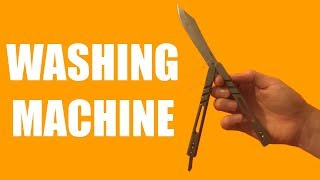 Butterfly Knife Tricks for Beginners #6.5 (Washing Machine)