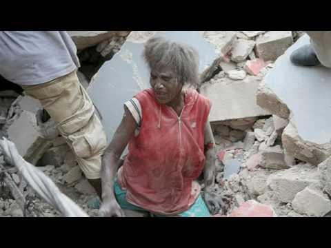 Fallin Apart (Haiti Relief)- WHUTEVA & Tim HIllery...