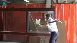 Kırılmaz Cam Testi ( Unbreakable Glass Test) Lamine Cam