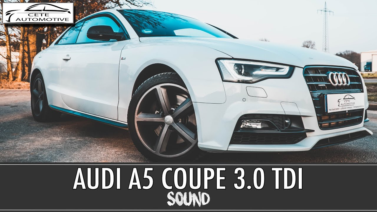 audi a5 3 0 tdi euro6 addblue coupe mit soundmodul. Black Bedroom Furniture Sets. Home Design Ideas