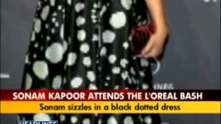 Sonam Kapoor at L'Oreal and Chopard Party! Cannes 2012  (India Today Video)