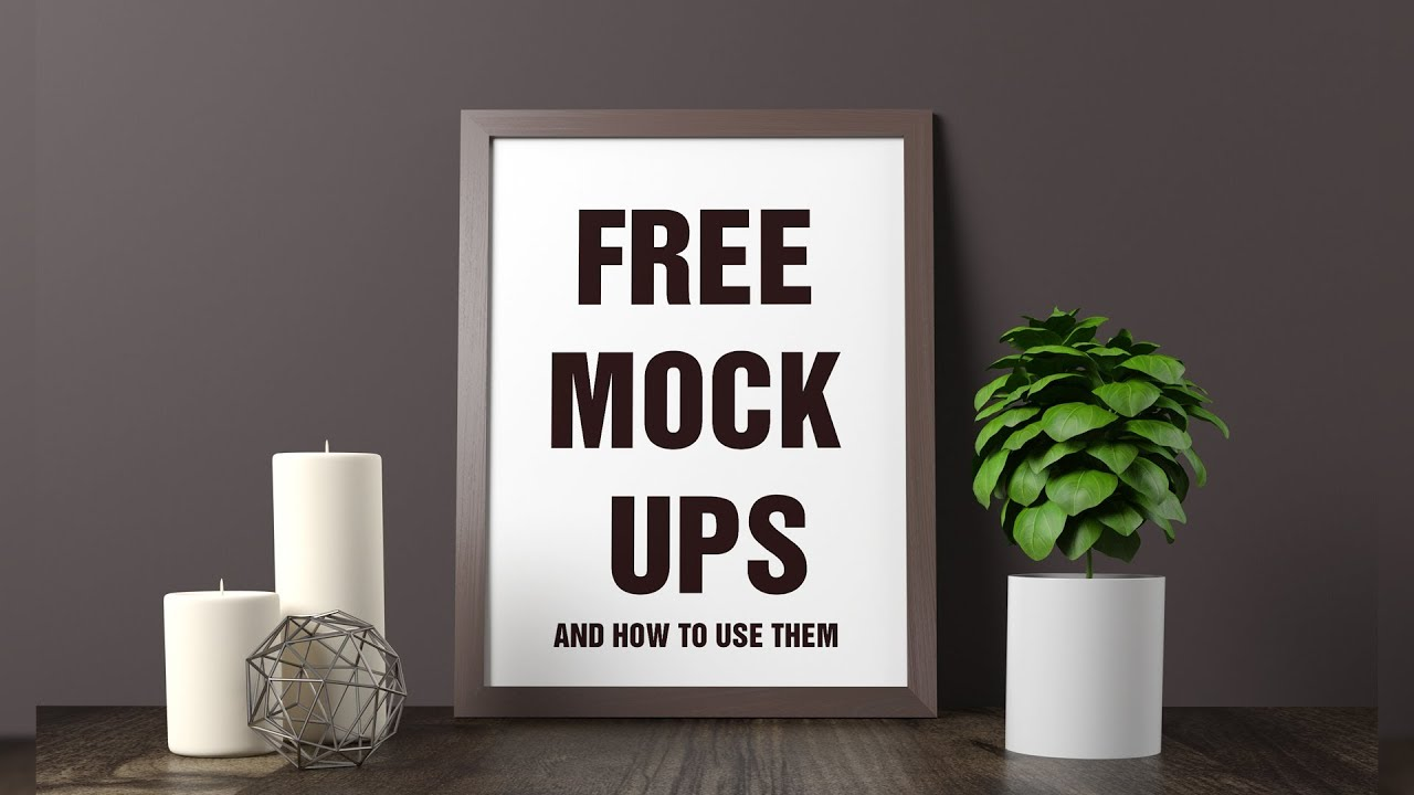 How To Use Free Mockups In Photoshop