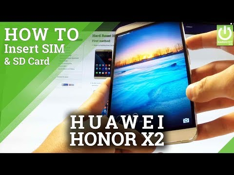 HONOR X2 Insert SIM & SD Card - Set UP HONOR X2