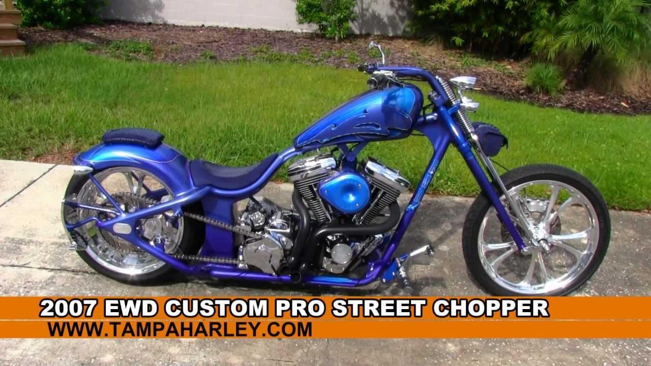 Street Custom Chopper For Sale Harley Davidson Of Tampa Youtube