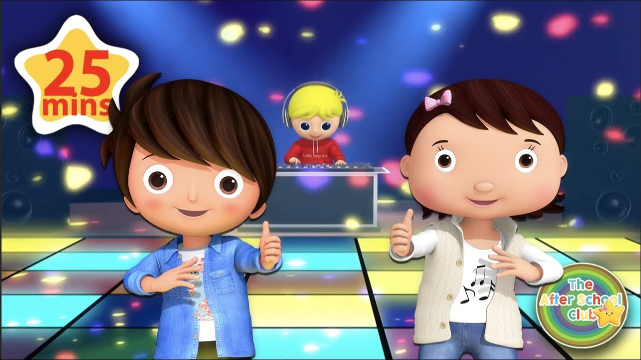 1, 2 It's Time To Dance | Kids Party Songs | Little Baby Bum | ABCs and 123s
