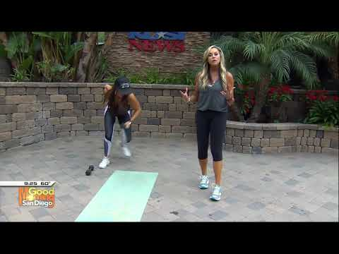 Swimsuit ready fat burner with Cindy Whitmarsh