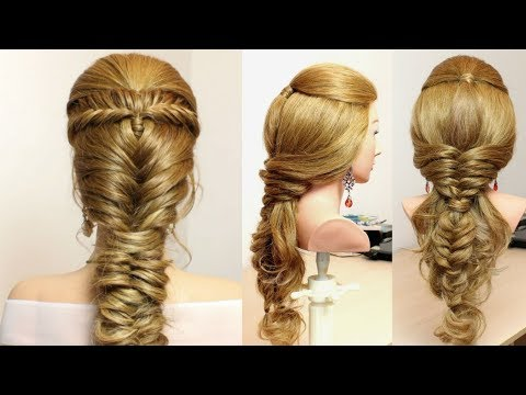 2 Easy Braided Hairstyles For Long Hair Tutorial