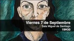 Exposición y subasta en beneficio de los niños con cáncer del artista Edgar Carrasco Mora