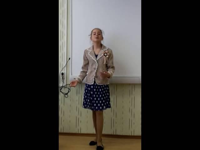 Изображение предпросмотра прочтения – ПолинаЯнковчук читает произведение «Руслан и Людмила» А.С.Пушкина