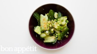 This Smashed Cucumber Salad Is The Freshest | Bon Appetit