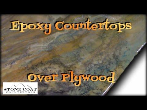 Epoxy Countertops Over Plywood